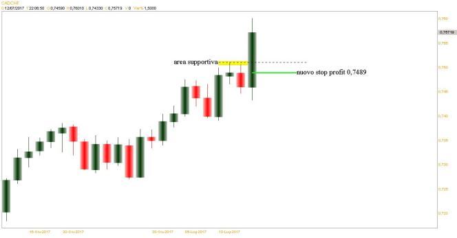 nuovo stop profit