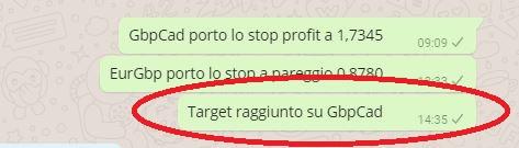 target fatto